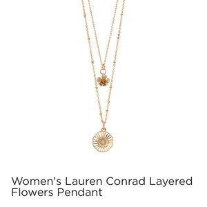 Gold Flower Necklace